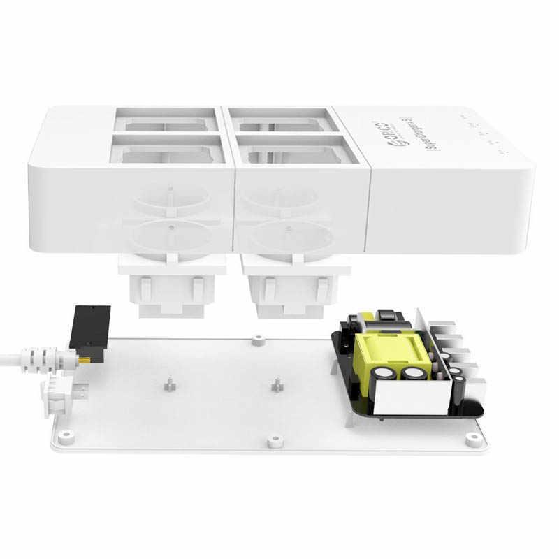 ORICO HPC-4A5U UK/US/EU Cắm Ổ Cắm Điện 5x5V2. 4A Cổng Sạc USB với 4 Ổ Cắm Bảo Vệ Tăng Điện Dải
