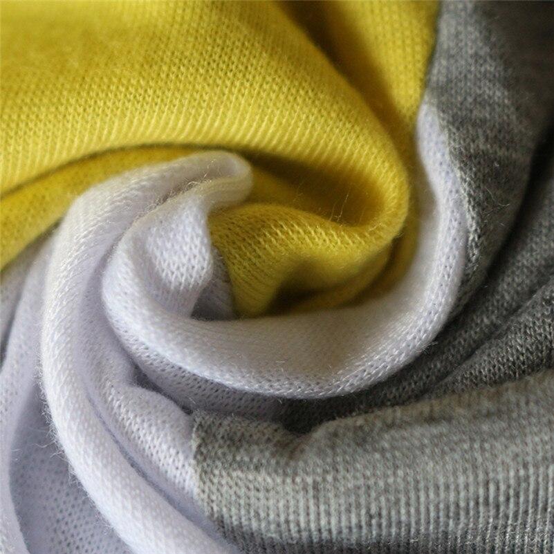 Patchwork Color Block Long Sleeve Blouse Tops Women Autumn Slim Shirt Blouse Clothes Blusa Feminina Camisa Drop Shipping #2s #6