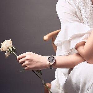 Image 2 - NAVIFORCE Top Luxury Brand New Fashion Women Watches Quartz Ladies Rhinestone Watch Dress Wrist Watch Female Casual Simple Clock