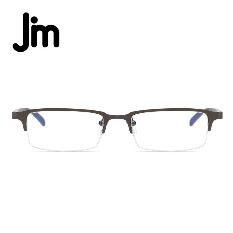 JM Wholesale 2/5/10/20 PCS Computer Reading Glasses Anti Block Blue Light Half Frame Gaming Eyeglasses Reduce Digital Eye Strain