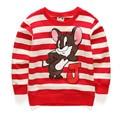 Kids boys spring shirt long-sleeved T-shirt for children big virgin boy sweater 2016 new 100% cotton summer baby boy's favorite