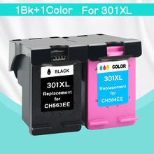 CMYK SUPPLIES 2pk/lot Ink Cartridge compatible for HP301 HP 301 301XL XL CH563EE CH564EE for HP DeskJet 1050 2000 3150 1010