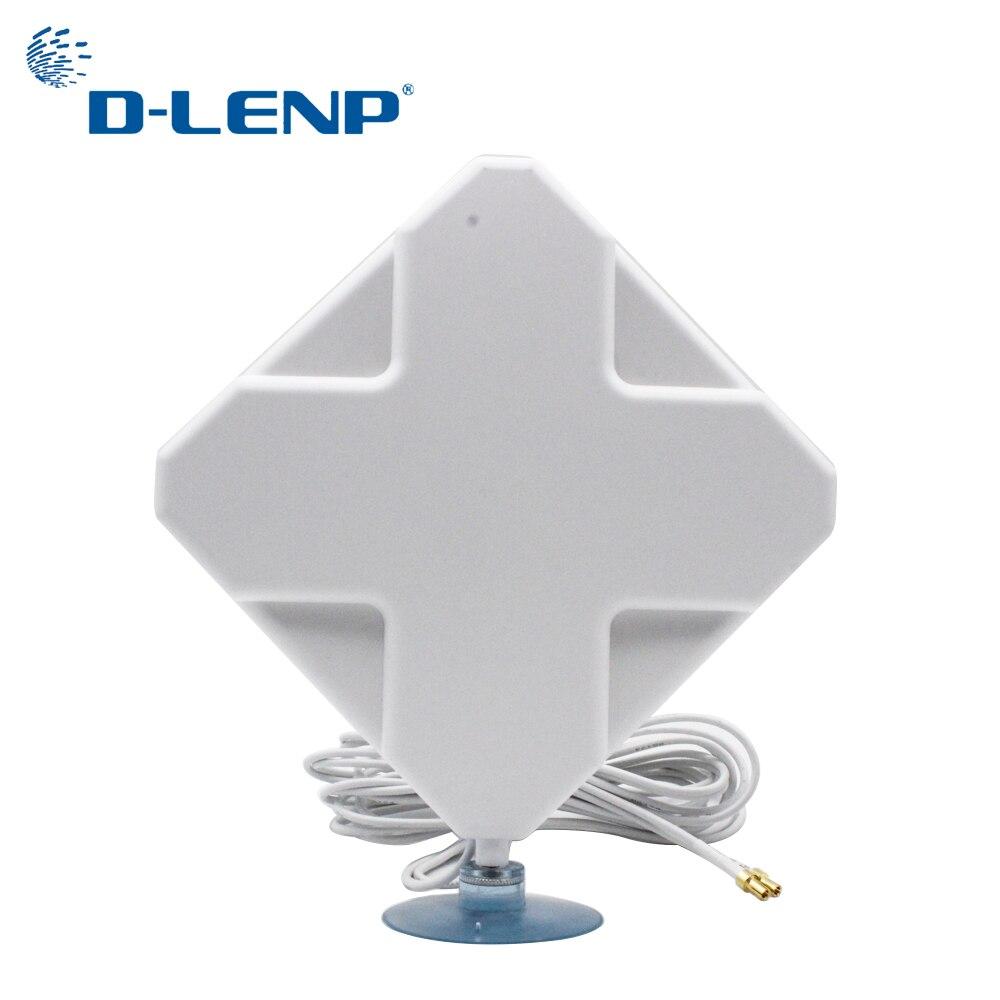 Antena Mimo 4G con Ts9 35dBi Gain, conector 4G 2-TS9 para módem 4G, antena del Router con amplificador de Señal de Cable 2M Antena WiFi 4G LTE, antena SMA 12dBi Omni antenne CRC9 TS9 SMA macho 5m, cable dual 2,4 GHz CRC9 para Routers Huawei B315 E8372 ZTE