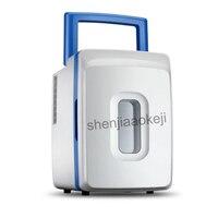 12L mini fridge mini Home Portable medical student hostel Cosmetic refrigerator Cold Storage mini refrigerator AC 220V/DC 12V