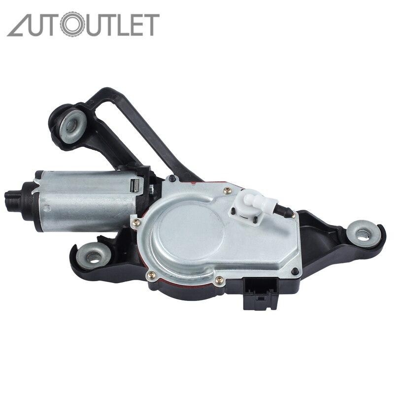 AUTOUTLET сзади стеклоочиститель двигателя для BMW 1 серии E81 E87 03-12 Hatchback 67636921959 67637199569 заднего стекла двигателя