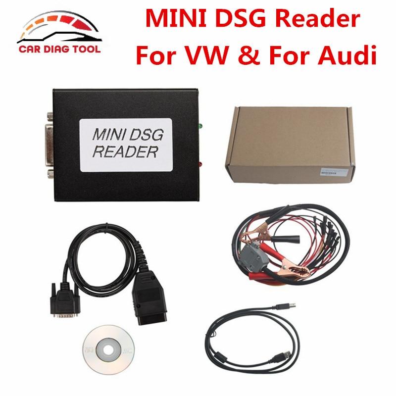 Цена за Новое поступление 2017 года MINI DSG Reader DQ200 + DQ250 мини DSG Direct коробка передач чтения данных и инструмент для написания Бесплатная доставка