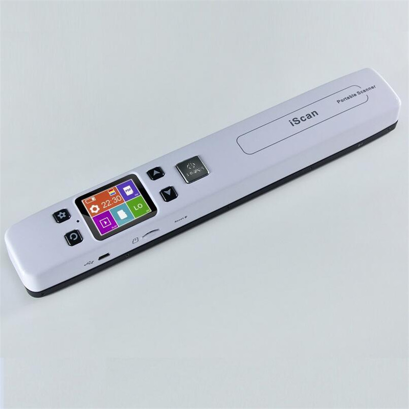Portable Mini A4 Color CIS High Speed Handheld Document