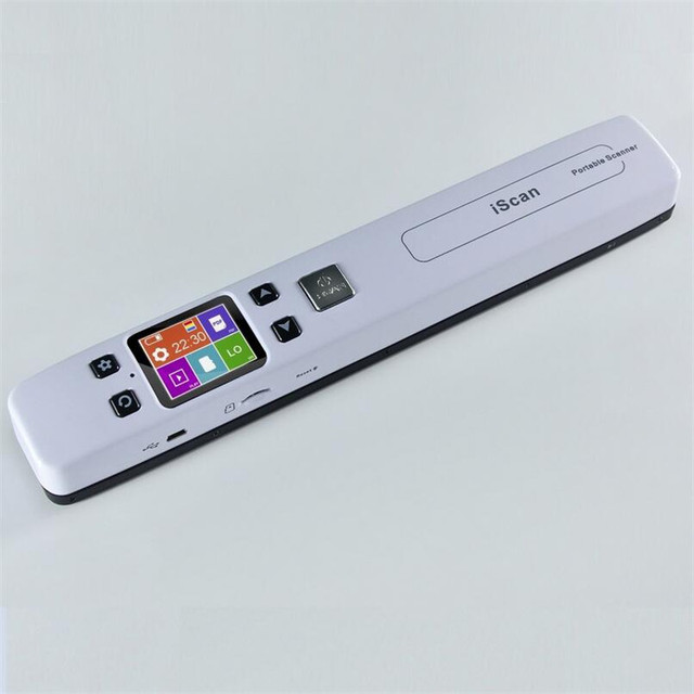 Tragbare Mini A4 Farbe CIS High Speed Handheld Dokument Mobilen ...