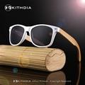 2017 Para Hombre de gafas de Sol Mujeres Espejo Pierna Deporte Polarizado gafas de Sol de Bambú De Madera Gafas de sol y Accesorios KD021