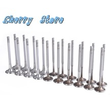 OEM Intake Exhaust Valves Fit VW Jetta Golf Passat A3 A4 A6 Seat Engine 1.8 20V 058 109 601 C (Intake) 611 M (Exhaust)