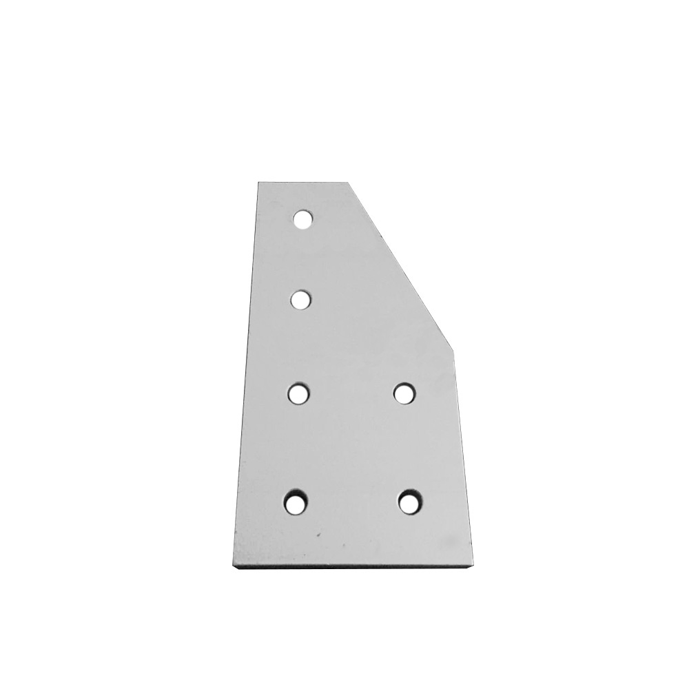 1pcs 4080 40x80 6 hole L type 90 Degree Joint Board Plate Corner Angle Bracket Connection Joint for Aluminum Profile цена