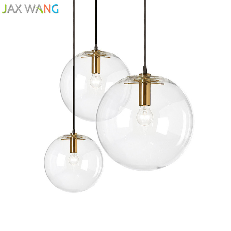 Us 31 53 19 Off Nordic Bubble Pendant Light Modern Lamp For Restaurant Creative Design Lighting Fixtures Clothing Window Decor In
