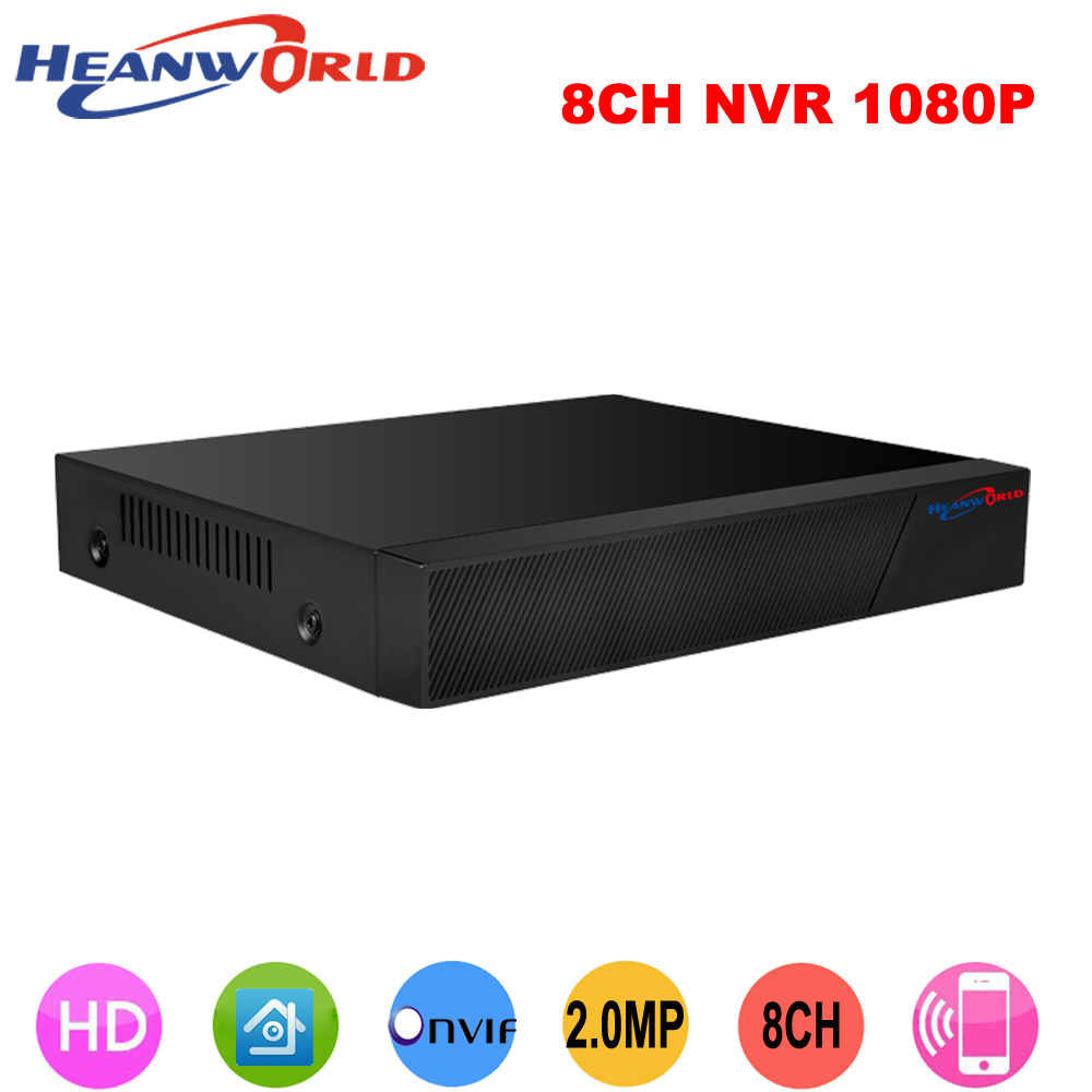 Best CCTV 8CH NVR Onvif H.264 HDMI High Definition 1080P Full HD 8 channel Network Video Recorder CCTV NVR For IP Camera system h 265 h 264 4ch 8ch 48v poe ip camera nvr security surveillance cctv system p2p onvif 4 5mp 4 4mp hd network video recorder