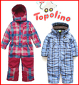 Topolino 9m-5лет ребенок и дети Зима Теплая лыжный костюм snowsuit Ползунки утолщение хлопка мягкой пальто и куртки дети