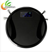 220V Household Robot Vacuum Cleaner Automatic Clean Wet And Dry Robot Aspirator Clean Mop Anti Fall