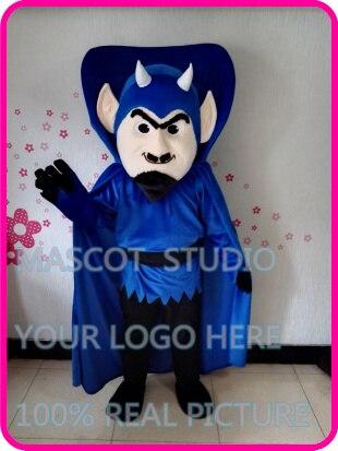 US $315 0 |mascot blue devil mascot costume custom fancy dress anime  cosplay cartoon character carnival costume mascotte-in Mascot from Novelty  &