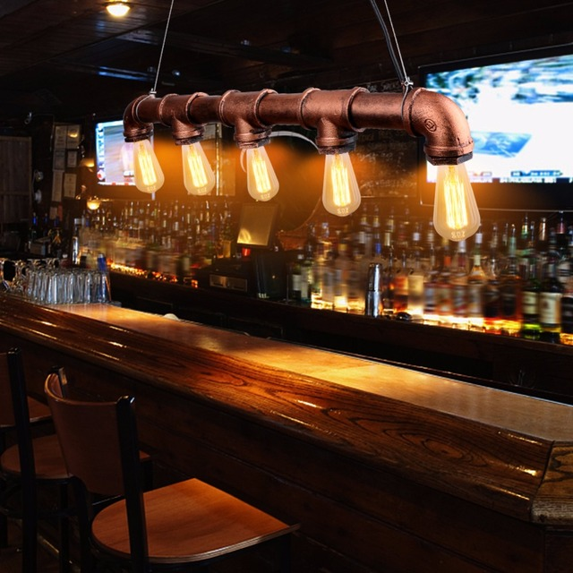VIntage Loft Industriële Waterleiding lamp Retro Klassieke Edison ...