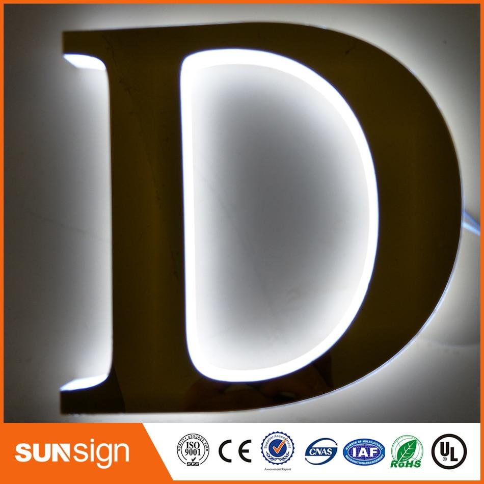 LED Lighting 3d Plastic Acrylic Alphabet Letter Lighted Letters