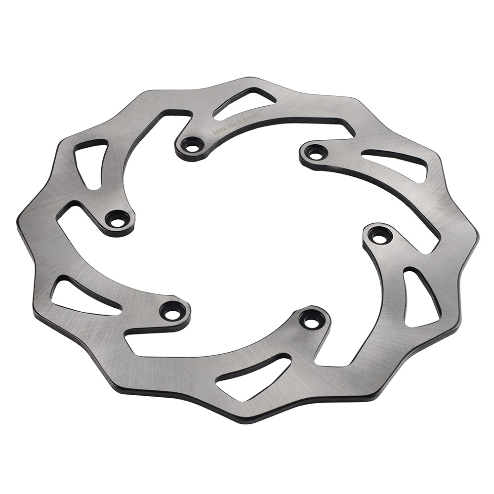 Stainless Steel 220mm Rear Brake Disc Rotor For KTM SX SXF XC XCF XCW XCFW EXC EXCF Six Days 105 125 150 200 250 300 350 450 500