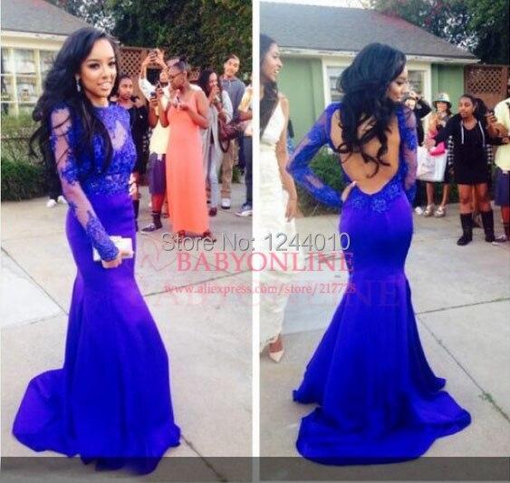 Sleeve Lace Prom Dress Plus Size
