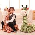Venda quente Lindo Sofá Cadeira Crianças Cute Padrão Animal Dos Desenhos Animados Do Bebê Beanbag Assento Do Sofá de Cristal Super Macio Crianças Dormindo Cama/EMS