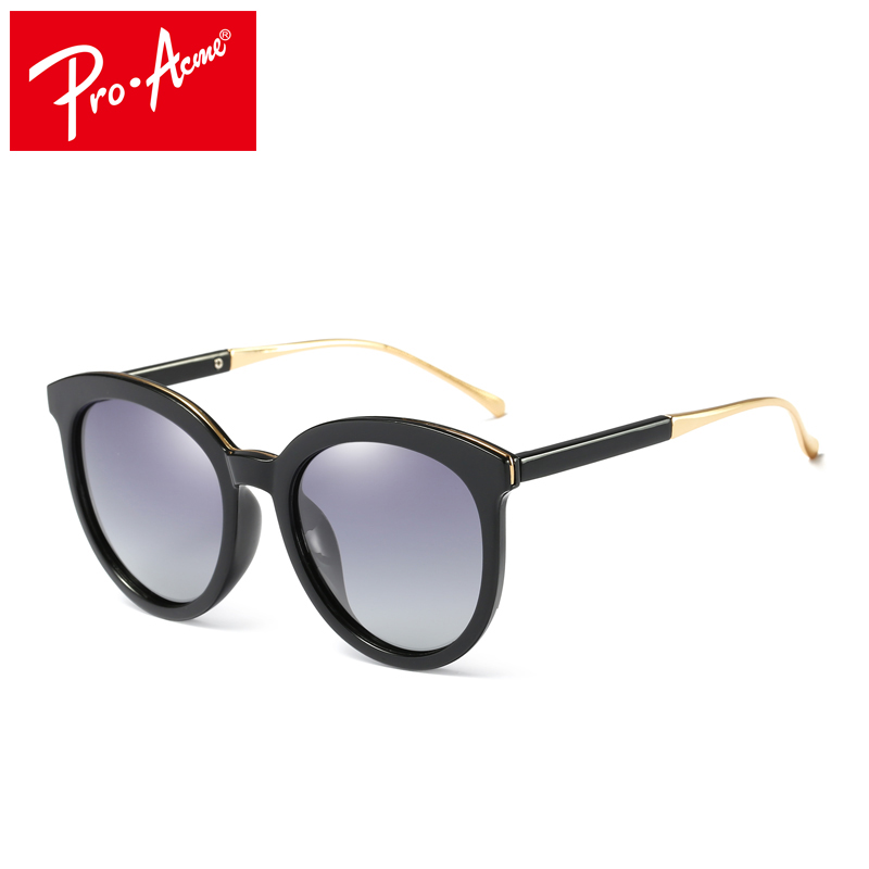 ec3878b90412 Pro Acme Brand Design Women Sunglasses Round Polarized Mirror Sun Glasses  Female Fashion Glasses Eyewear UV400 CC1033