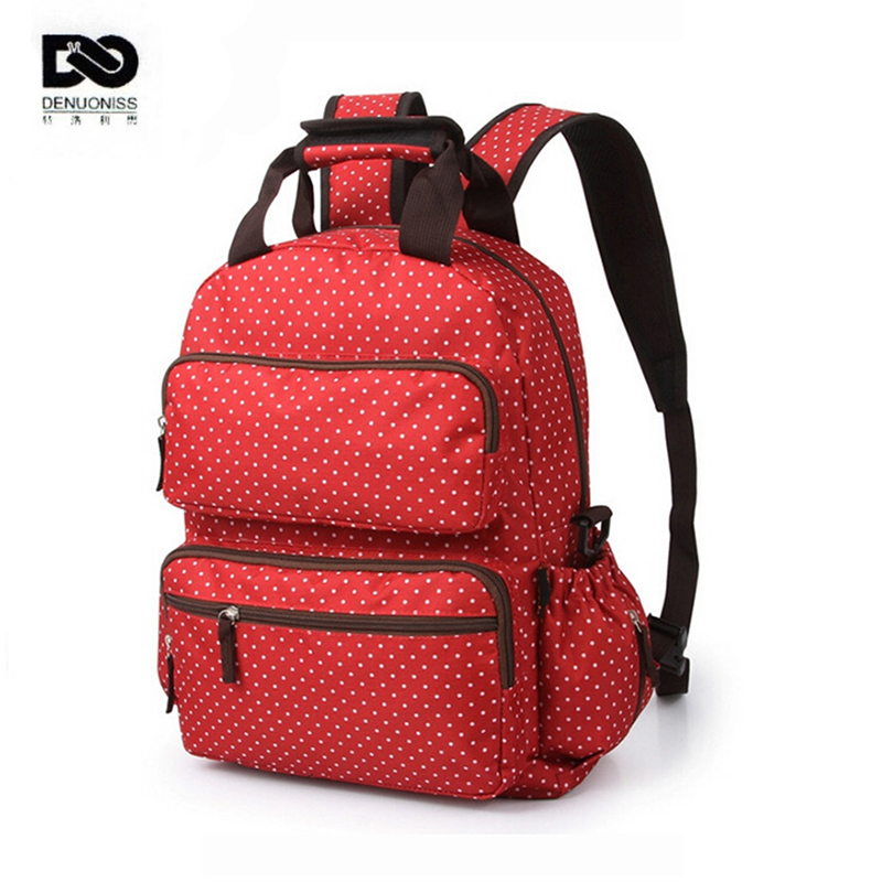 designer backpack diaper bag q5o0  Fashion Dot Backpack Baby Changing Diaper Bags Fashion Designer Mother Bag  Baby Stroller Bags Multifunctional High