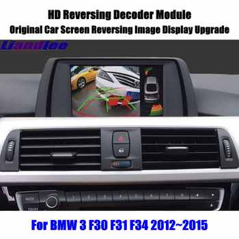 For BMW 3 F30 F31 F34 2012~2015Car Screen Upgrade Display Update HD Reverse Decoder Module Rear Parking Camera Image - DISCOUNT ITEM  20% OFF All Category