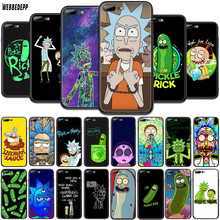 WEBBEDEPP Rick And Morty TPU Phone Case for OPPO