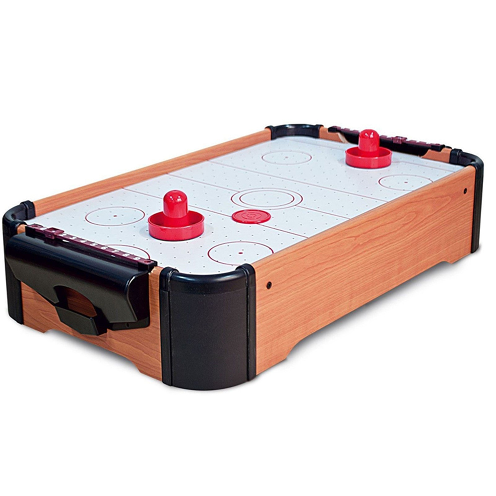 Mini Table Top Air Hockey Game Pushers Pucks Family Xmas Gift Arcade Toy Playset funny fishing game family child interactive fun desktop toy