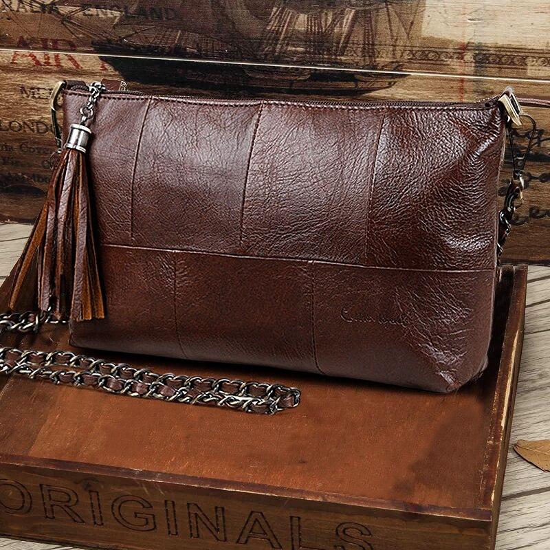 Cobbler Legend Luxury Flap Women Bags Tassel Designer Handbag Vintage Clutch Chain Bag Female Messenger Crossbody