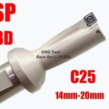 SP WC C25 3D 13 14 15 16 17 18 19 20 U тип сверла для SPMG вставки U сверла с мелким отверстием