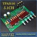 1 шт. собранный TPA3116 5.1 6-channel 100 Вт + 50 Вт * 5 усилителя + тон настроить Amp совета, Бесплатная доставка