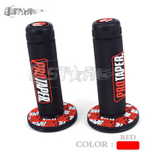 7/8″ PRO TAPER Rubber Gel Handlrbar Handle Bar Grips Fit CR CRF 50 80 125 150 230 250 450 Supermoto Motorcycle Motocross