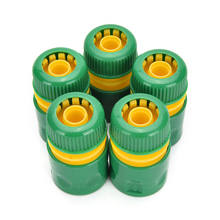 "34mm 1/2 ""Slang Pijp Montage Set Quick Geel Water Connector Adapter Tuin Gazon Tap Waterleiding Connector(China)"