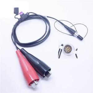 Image 2 - Trimble câble dalimentation de remplacement GPS 12V