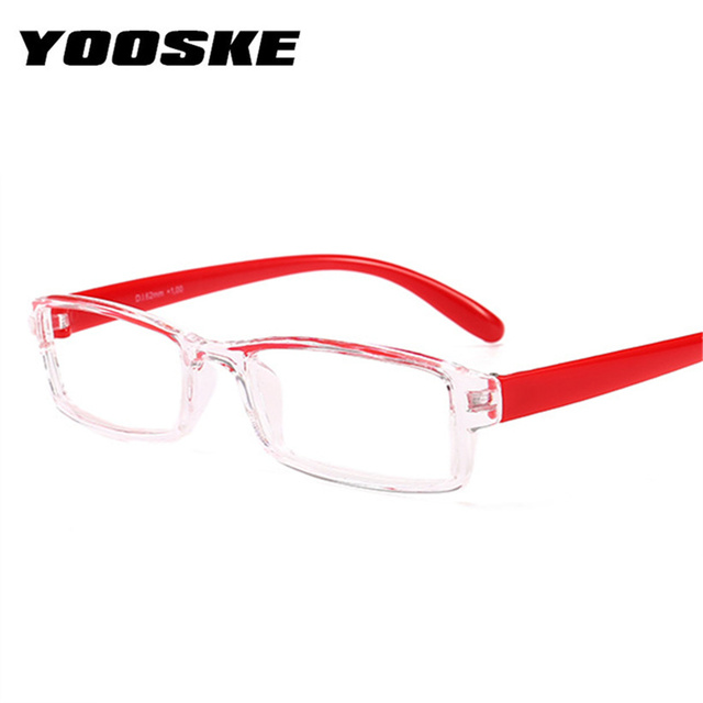 YOOSKE Men Reading Glasses Women Resin Clear Lens Presbyopic Eyeglasses Fashion Hyperopia Spectacle Diopter +1.5 +.2.0+2.5+3.0