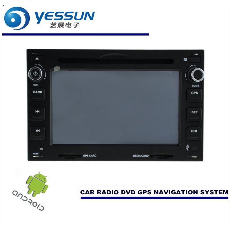 YESSUN Car Android Navigation For Volkswagen VW Fox / Lupo / Passat B5 Radio Stereo CD DVD Player GPS Navi BT HD Multimedia