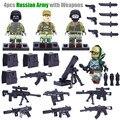 Мини МОК Армии США Русский Морской рис Борьбе с терроризмом Солдат Оружие Фигура Строительные Игрушки Decool 304-307 совместимый с Lego