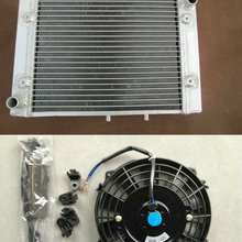ATV Алюминий радиатор+ кулер вентилятор для CAN-AM Outlander 500/650/800 2006- 4x4 XT Хо EFI CANAM CAN AM 06 07 08 09, 10, 11, 12, 13 лет
