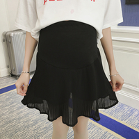 Maternity care belly pants pregnant women dress plus size maternity short skirt culottes bust skirt culottes maternity pants