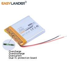 554040 3.7 V 950 mAh Rechargeable li-Polymère Batterie Pour Mp3 Mp4 PAD DVD bluetooth Vedio Jeu jouets mobile fils fils connecteur