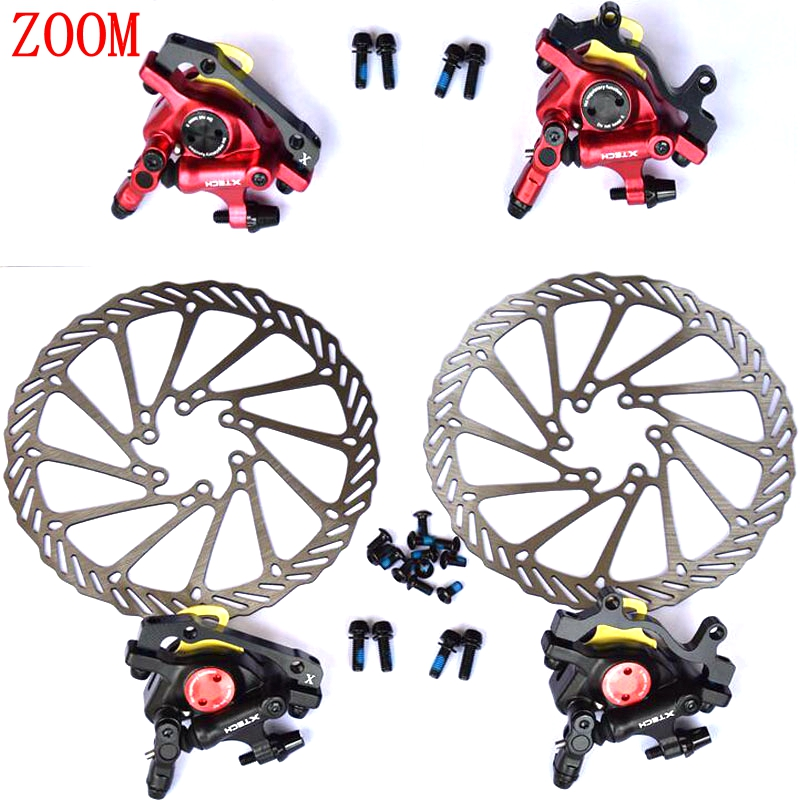 New Avid BB7 Disc Brake Calipers+G3 rotors Front/&Rear