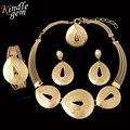 2017 Romantic Nupcial Nigeriano Boda Perlas Africanas Joyería Conjunto Moda Dubai Plateado Oro de La Joyería Diseño de Vestuario