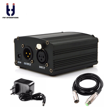 Ituf Professional 48V DC Phantom Power Supply Genuine For Studio Recording Condenser Microphone Computer EU Plug