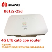 Unlocked Huawei B612 4G LTE Cat 6 CPE router B612s 25d 4G wifi router 4g hotspot LTE CPE is a wireless gateway integrates LTE