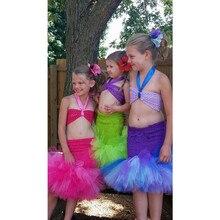 Baby Girl Handmade Little Mermaid Tulle Tutu Dress