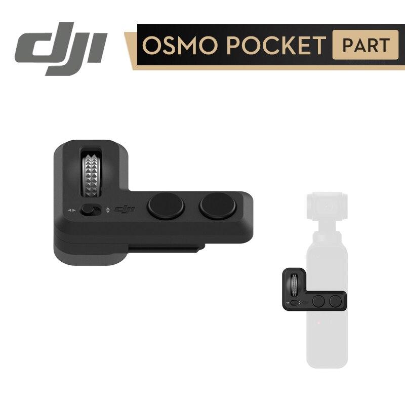 DJI Osmo bolsillo controlador rueda para Osmo bolsillo en Stock Original accesorios con un Dial para preciso de Pan y Tilt control