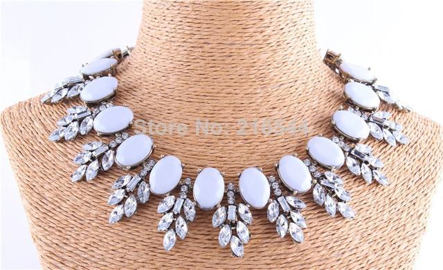 Hot Sale Fashion 2014 New JC Fashion Rhinestone Bee Collar Choker Vintage Statement Pendant Necklace For Women Jewelry Christmas