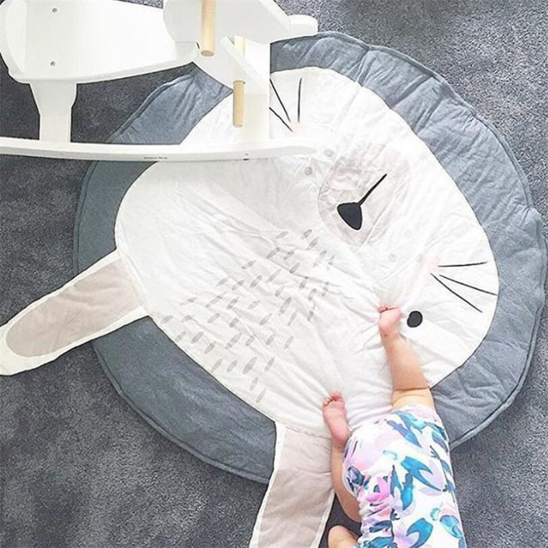 HTB160ViqXmWBuNjSspdq6zugXXaA Baby play Mats Animal climbing carpet infant Crawling Blanket Round Carpet Rug Toys Mat For Children Room Decor Photo Props